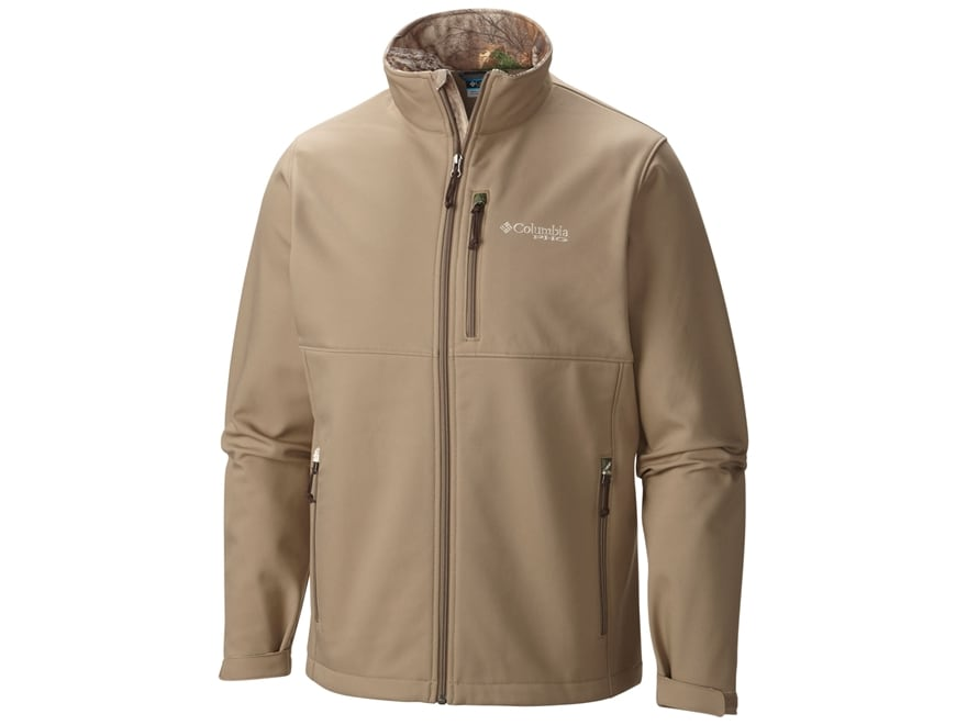 Columbia Men's PHG Ascender Softshell Jacket Polyester Flax XL