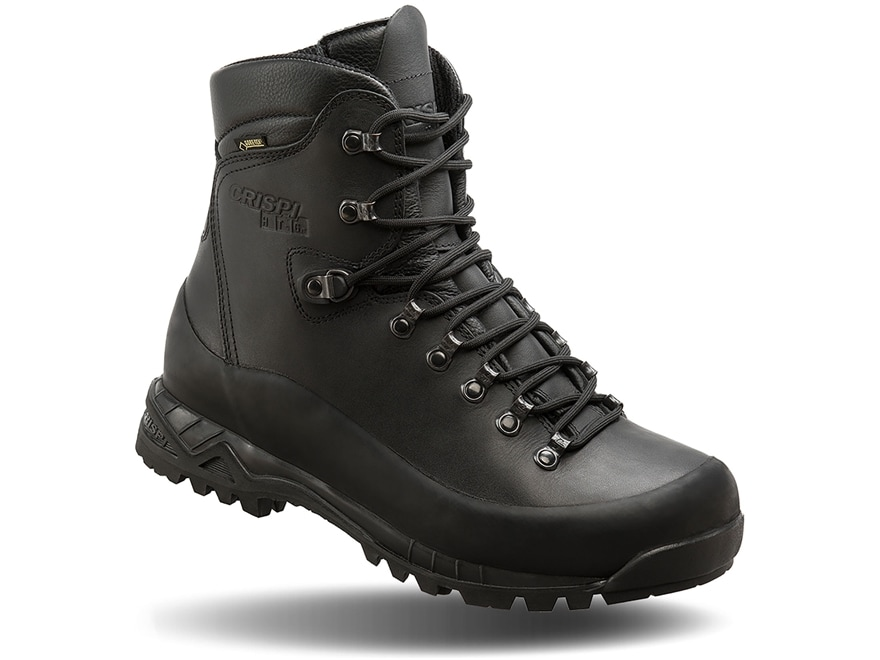 "Crispi Nevada Black GTX 8"" Waterproof GORE-TEX 200 Gram Insulated Tactical Boots Leathe..."