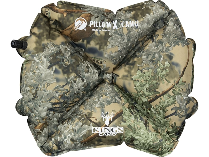 Klymit Pillow X Polyester King's Desert Shadow Camo