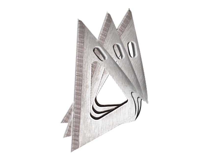 Muzzy 3-Blade 75 Grain Broadhead Replacement Blades Stainless Steel Pack of 18