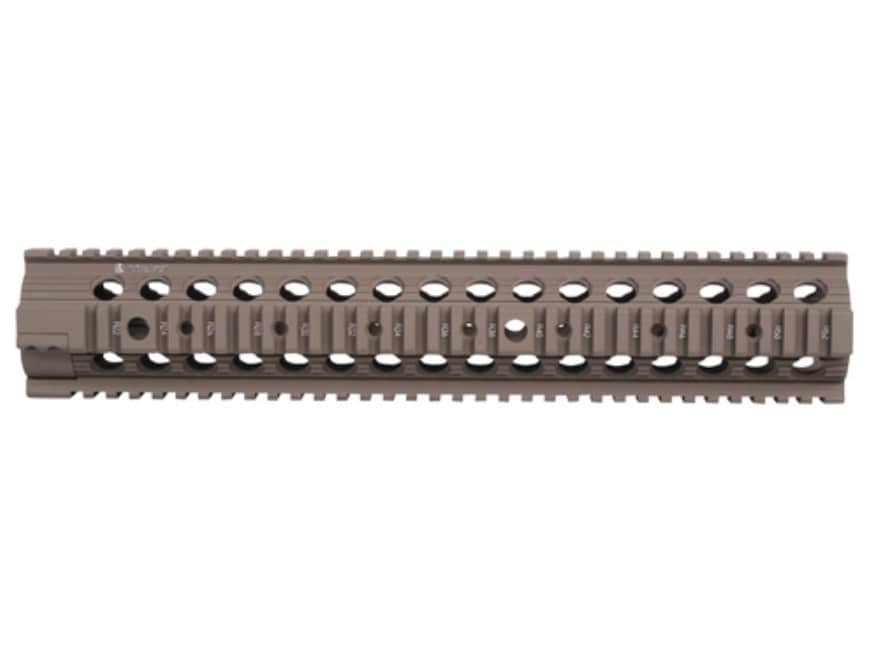 "Troy Industries 13.8"" MRF-308 Battle Rail Free Float Quad Rail Handguard DPMS LR-308 wi..."