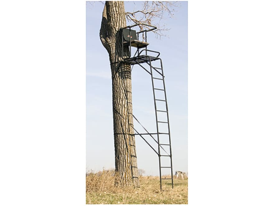 big game treestands the luxury box ladder treestand mpn cr4300 s. Black Bedroom Furniture Sets. Home Design Ideas