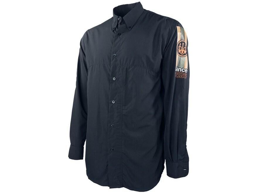 Beretta Men's Buzzi Shooting Shirt Long Sleeve Polyester