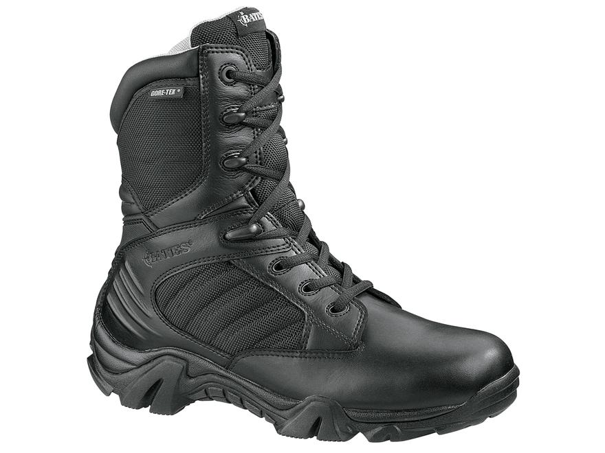 "Bates GX-8 8"" Side-Zip Waterproof GORE-TEX Tactical Boots Leather/Nylon Men's"