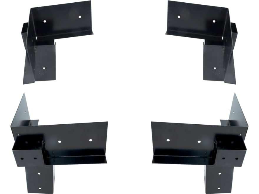 Hawk EZ Elevation Platform Brackets Kit Steel Black