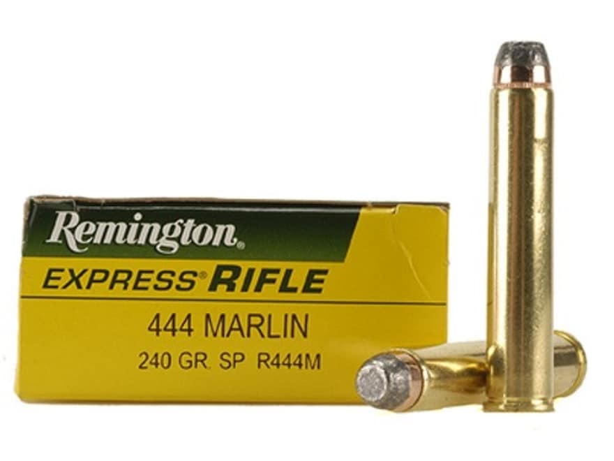 Remington Express Ammunition 444 Marlin 240 Grain Jacketed Soft Point Box of 20