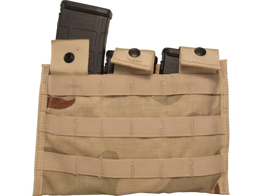 Military Surplus MOLLE II AR-15 Triple Magazine Pouch Nylon
