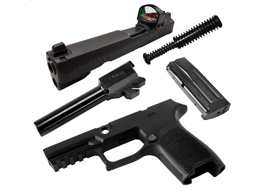 Sig Sauer Caliber X-Change Kit Sig P320 RX 9mm Luger with Magazine Black