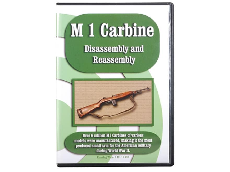 """""""M1 Carbine Disassembly & Reassembly"""" DVD"""