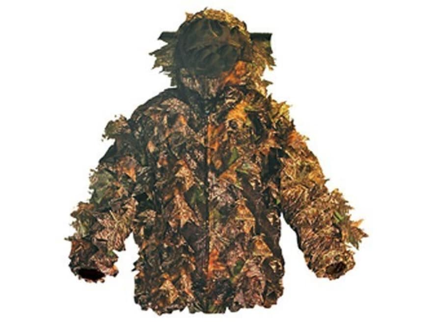 Shannon Men's 3-D Big Leaf Bug Tamer Plus Parka with Face Shield Polyester