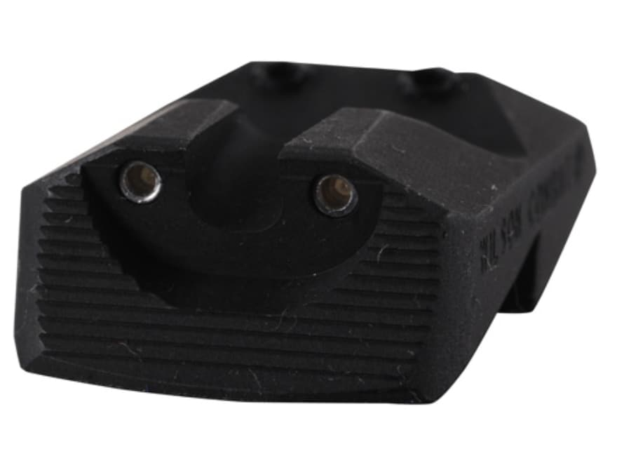 Wilson Combat Battlesight Rear Sight 1911 Novak Cut Steel Black Tritium