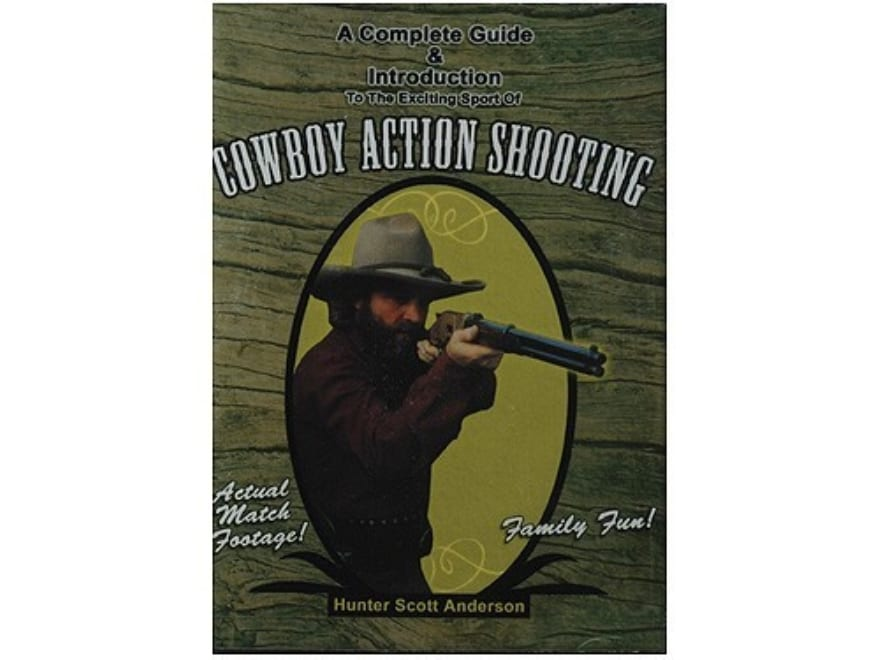 """Gun Video """"A Complete Guide And Introduction To Cowboy Action Shooting"""" DVD"""