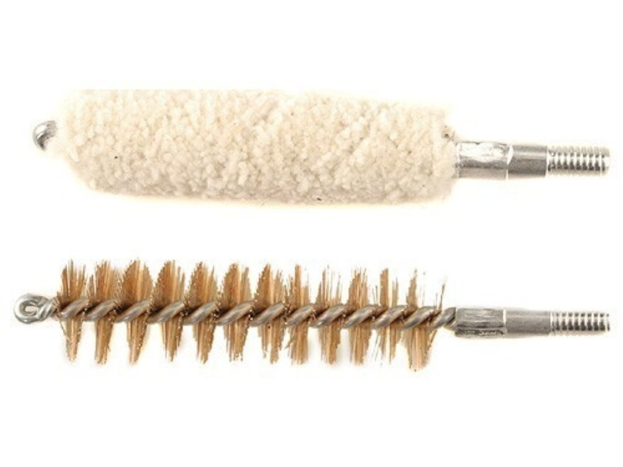 Thompson Center Bore Brush and Bore Cleaning Mop Set 50 Caliber Black Powder