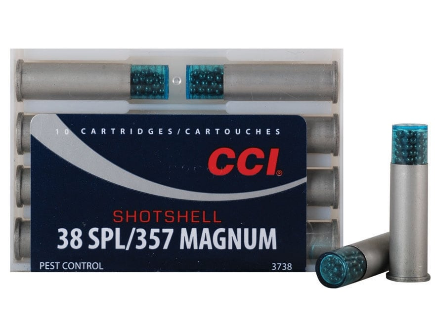 CCI Shotshell Ammunition 38 Special 100 Grains #9 Shot