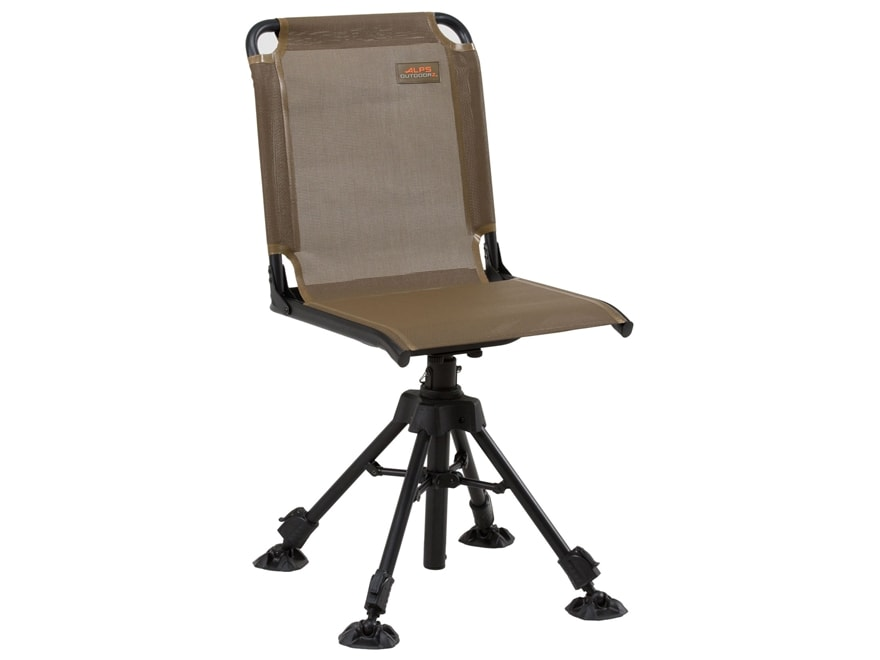 Alps Outdoorz Stealth Hunter Swivel Chair Brown