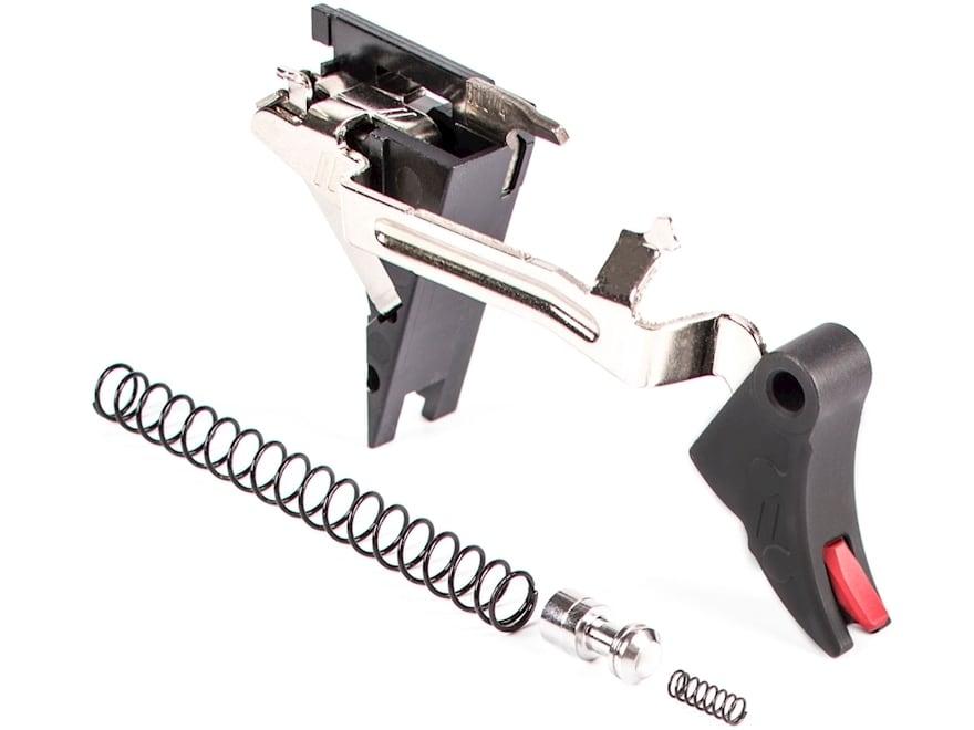 ZEV Technologies PRO Drop-In Trigger Kit Curved Face Glock 17, 19, 26, 34 Gen 4 Aluminum