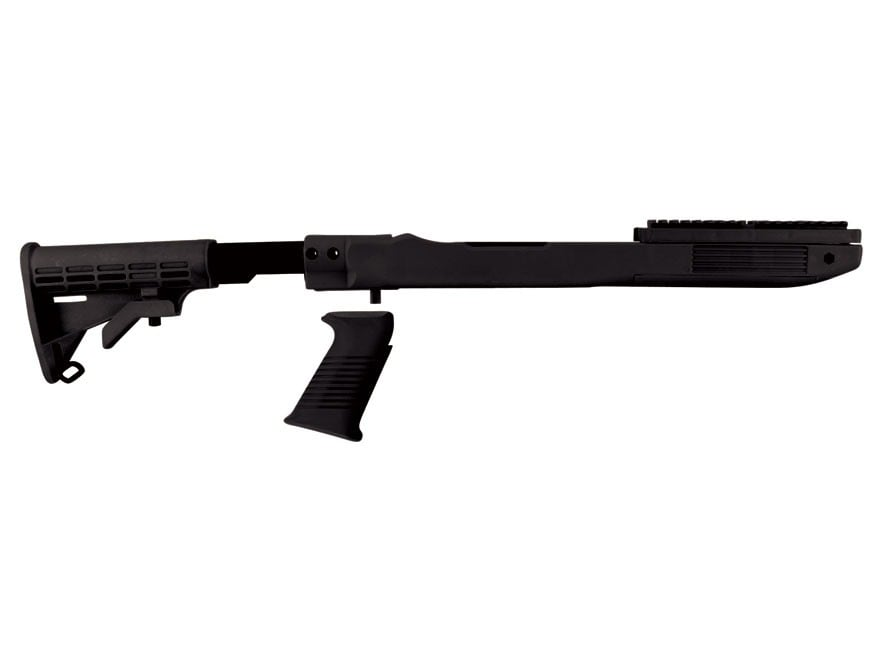 TAPCO Intrafuse T6 Rifle Stock 6-Position Collapsible Ruger 10/22 Standard Barrel Chann...