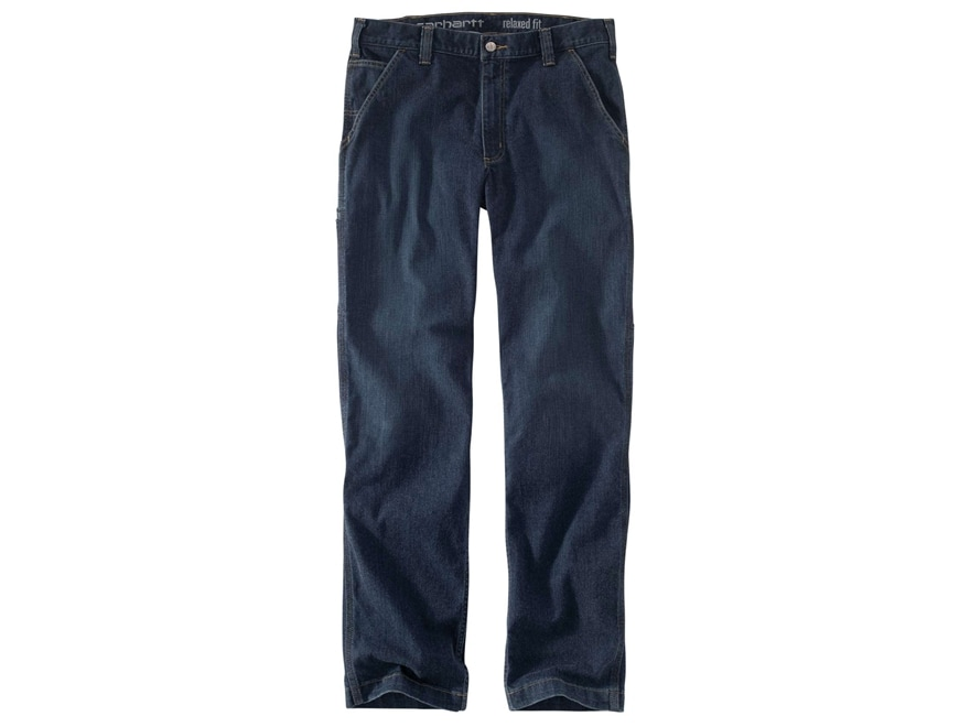 Carhartt Men's Rugged Flex Relaxed Dungaree Jeans Cotton/Poly