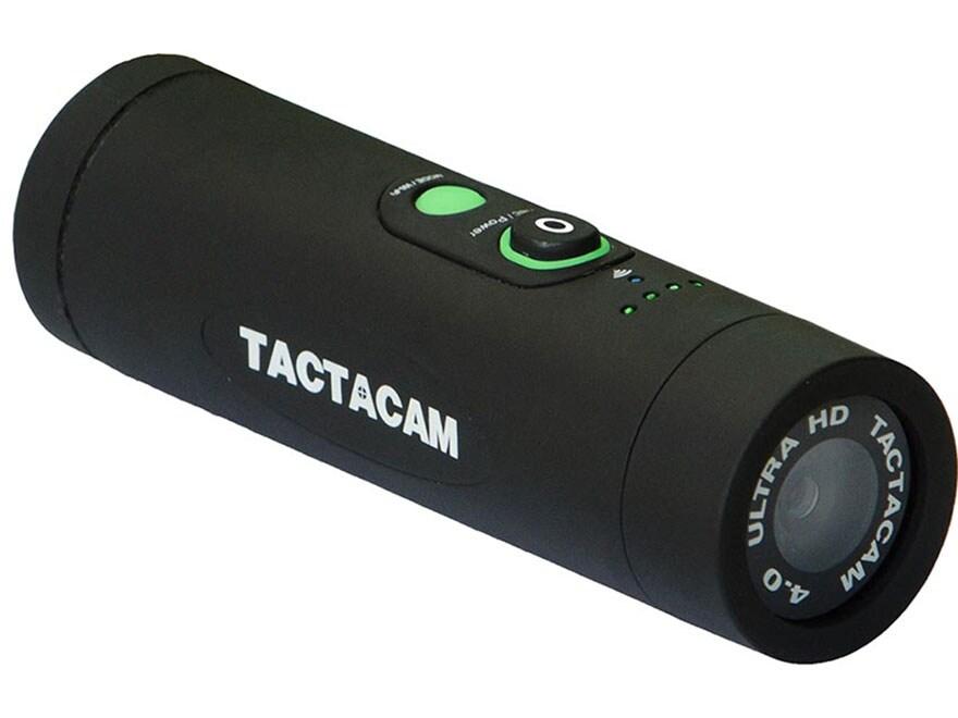 TACTACAM 4.0 Action Camera with Gun Mount Flat Black