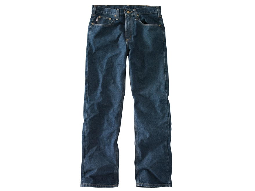 Carhartt Men's Straight Traditional Fit Straight Leg Jeans Cotton