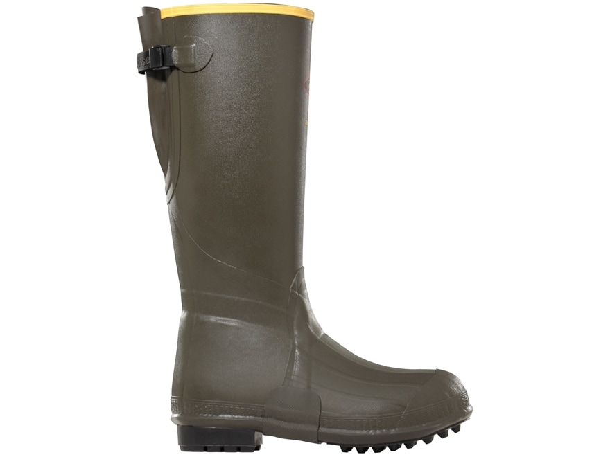 """LaCrosse Burly Air Grip 18"""" Waterproof 800 Gram Insulated Hunting Boots Rubber Forest G..."""