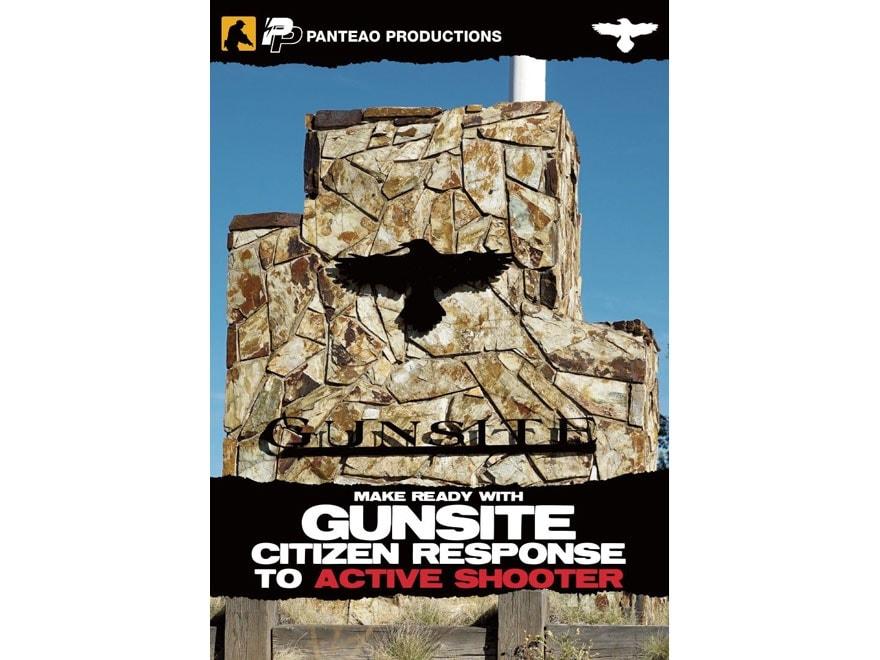 """Panteao """"Make Ready with Gunsite: Citizen Response to Active Shooter"""" DVD"""