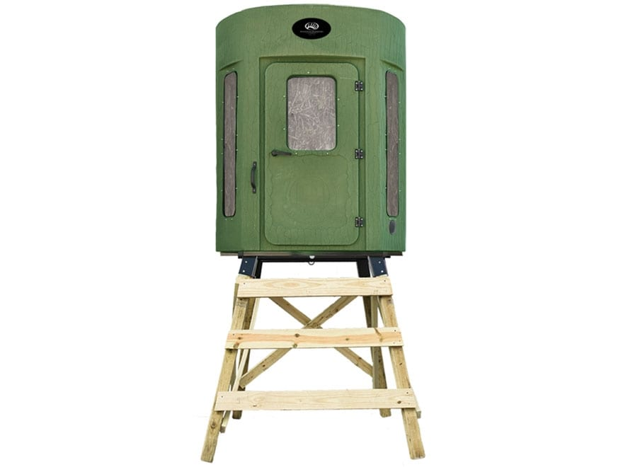 Banks Blinds Stump 3 Whitetail Properties Pro Hunter Box Blind Polyethylene Long Window