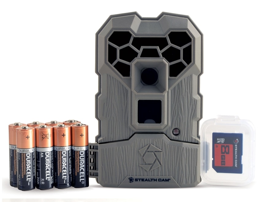 Stealth Cam Q-USA Ultra Low Glo Infrared Game Camera Combo 10 Megapixel Flat Dark Earth