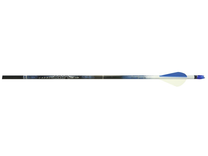"""Easton Carbon Ion Carbon Arrow with 2"""" XPV Vanes Pack of 6"""
