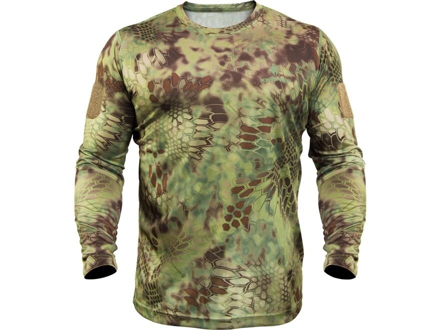 Kryptek Men's Stalker T-Shirt Long Sleeve Cotton