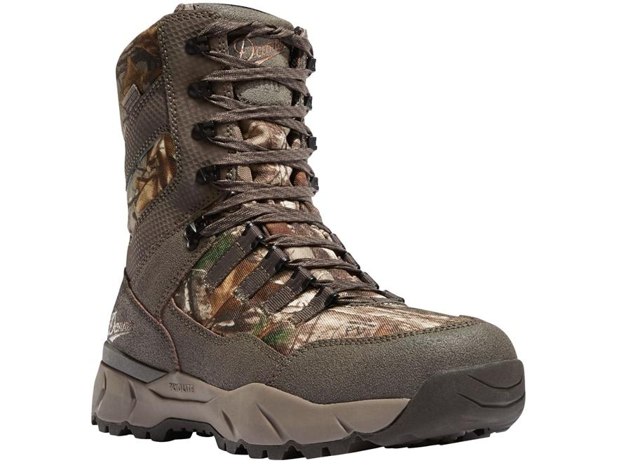 "Danner Vital 8"" Waterproof 800 Gram Insulated Hunting Boots Leather/Nylon Men's"