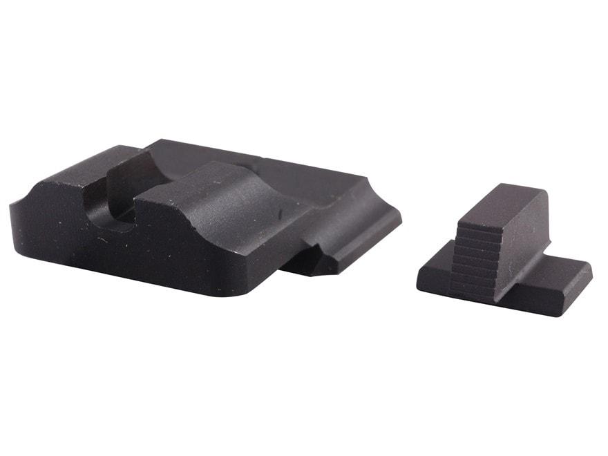 Warren Tactical Sight Set S&W M&P Pro, M&P L-Series Plain Tactical Rear, Serrated Front...