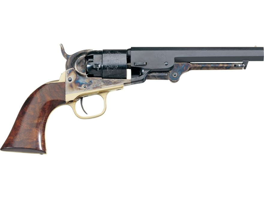 "Uberti 1862 Pocket Navy Black Powder Revolver 36 Caliber 5.5"" Barrel Steel Frame Blue"