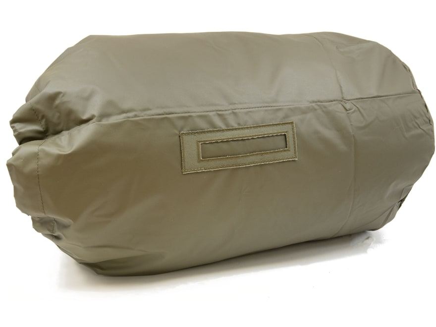 Military Surplus Swiss Sleeping Bag Stuff Sack Grade 2 Olive Drab