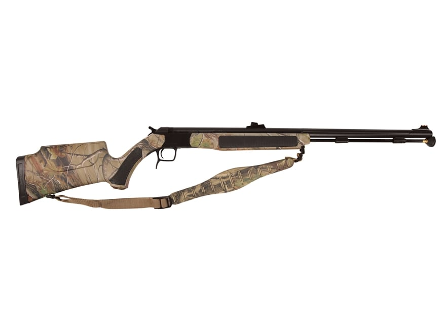 "CVA Accura V2 Northwest Muzzleloading Rifle with Fiber Optic Sight 50 Caliber 27"" Flute..."