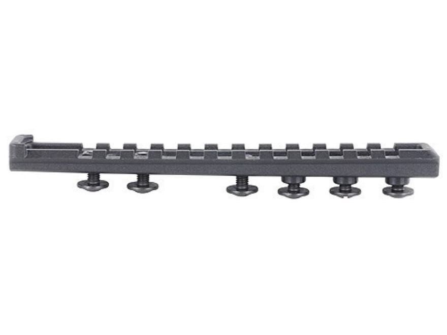 FAB Defense Parallel Picatinny Rail fits AR-15 M4 Handguard Polymer Matte