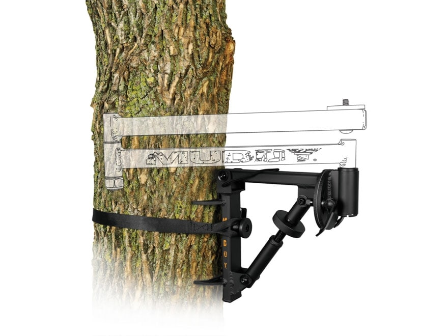 Muddy Outdoors Outfitter Video Camera Arm Base Steel Black