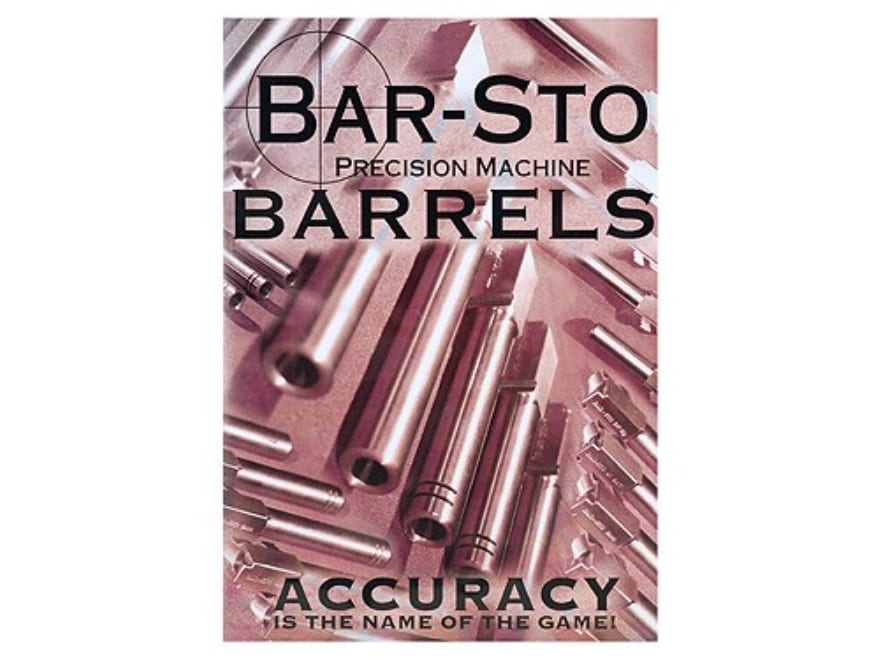 """Gun Video """"Bar-Sto Precision Machine Barrels: Accuracy Is The Name of The Game"""" DVD"""
