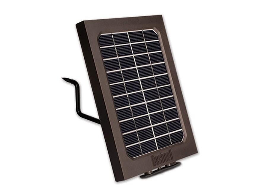 Bushnell Trophy Cam Aggressor Game Camera Solar Panel Brown