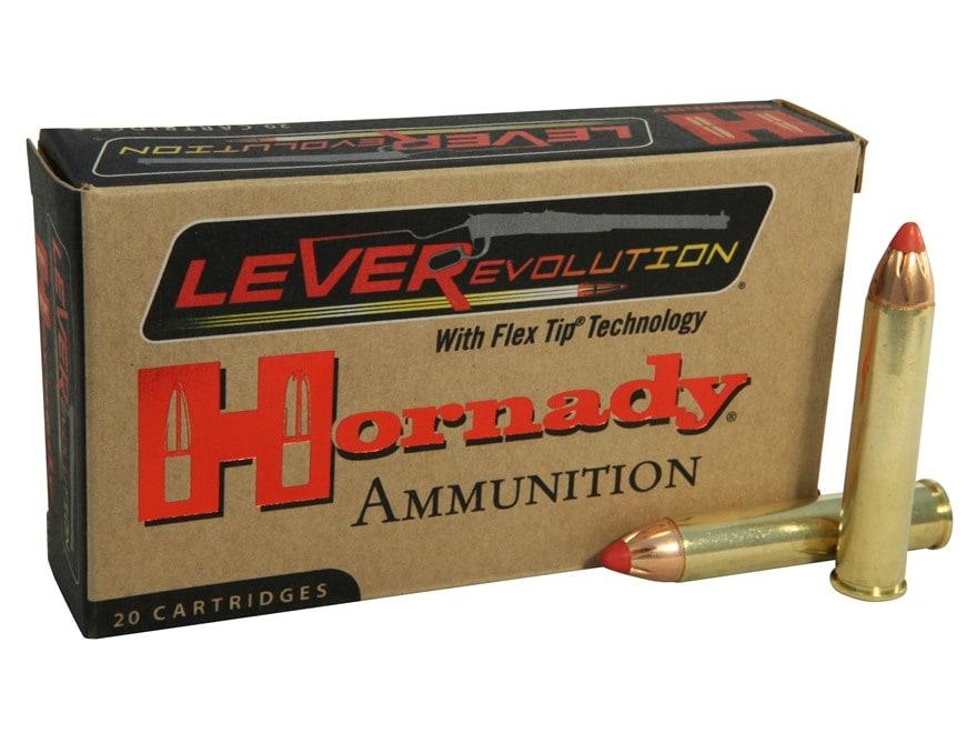 Hornady LEVERevolution Ammunition 444 Marlin 265 Grain Flex Tip eXpanding Box of 20