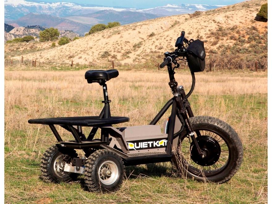 QuietKat Rancher AP 72 Volt Electric Utility Vehicle