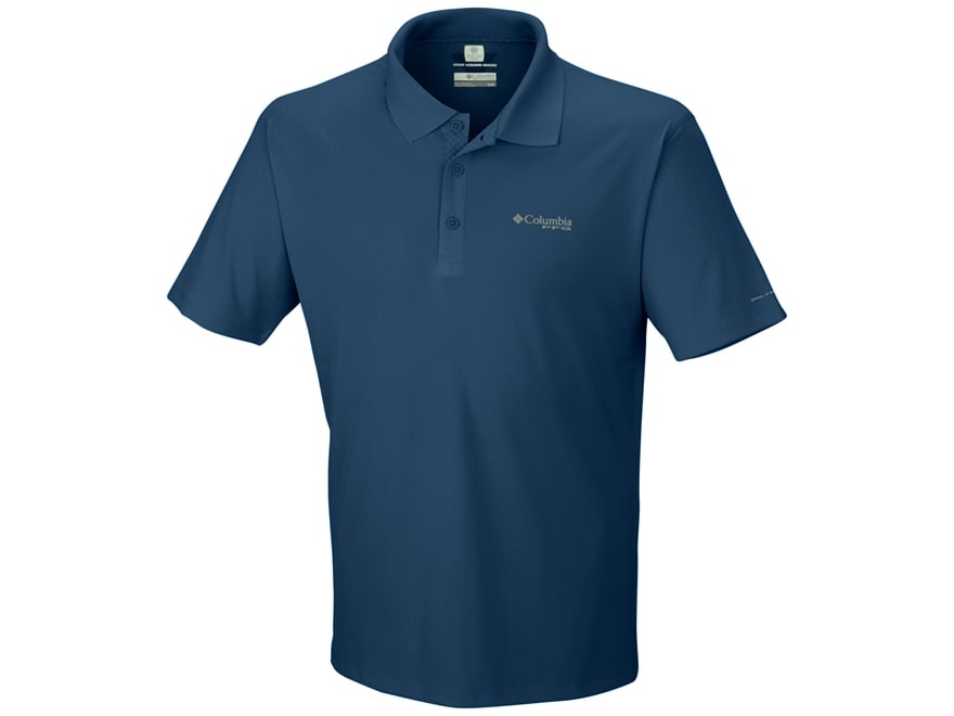 Columbia Men's PFG Zero Rules Polo Short Sleeve Polyester