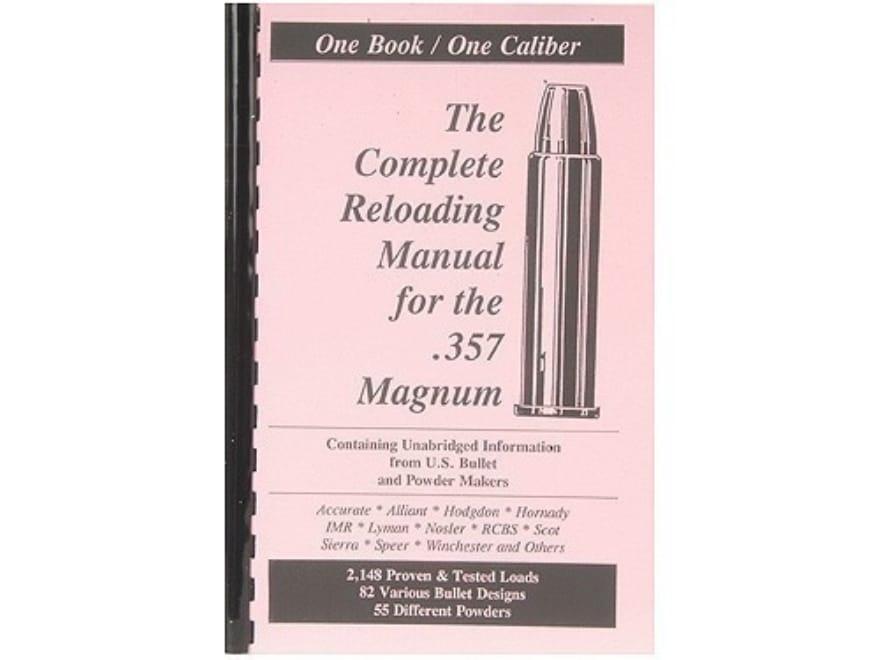 "Loadbooks USA ""357 Magnum Handgun and Rifle"" Reloading Manual"