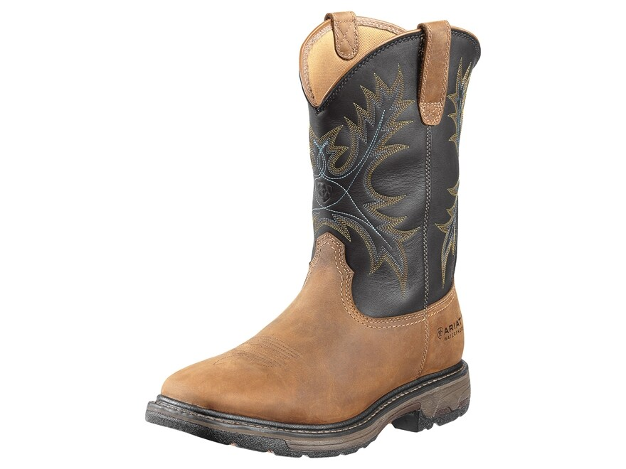 "Ariat Workhog 11"" WST Waterproof Work Boots Leather Men's"
