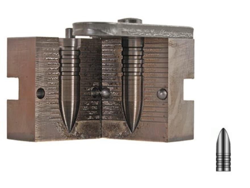 Lyman 1-Cavity Bullet Mold #410660 40 Caliber (406-410 Diameter) 385 Grain Semi-Pointed