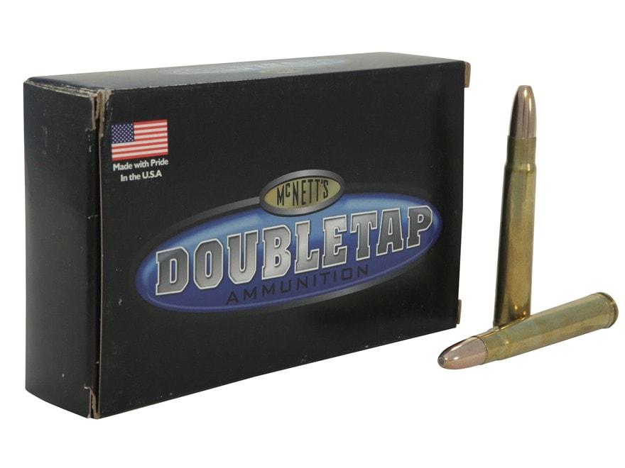 DoubleTap Ammunition 375 H&H Magnum 350 Grain Woodleigh Weldcore Jacketed Soft Point Bo...