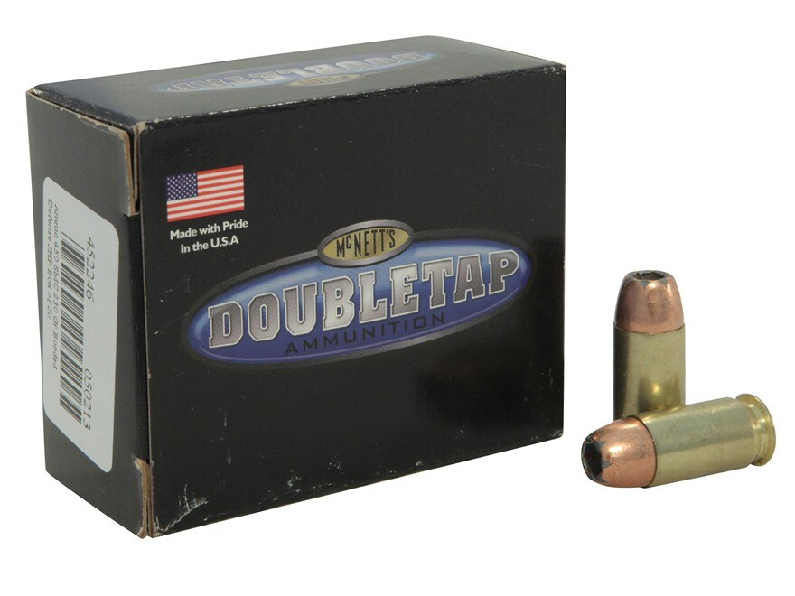 DoubleTap Ammunition 450 Short Magnum Cartridge 230 Grain Bonded Defense Jacketed Hollo...