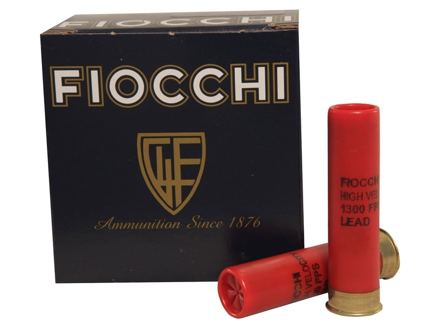 "Fiocchi High Velocity Ammunition 28 Gauge 3"" 1 oz #8 Chilled Lead Shot"