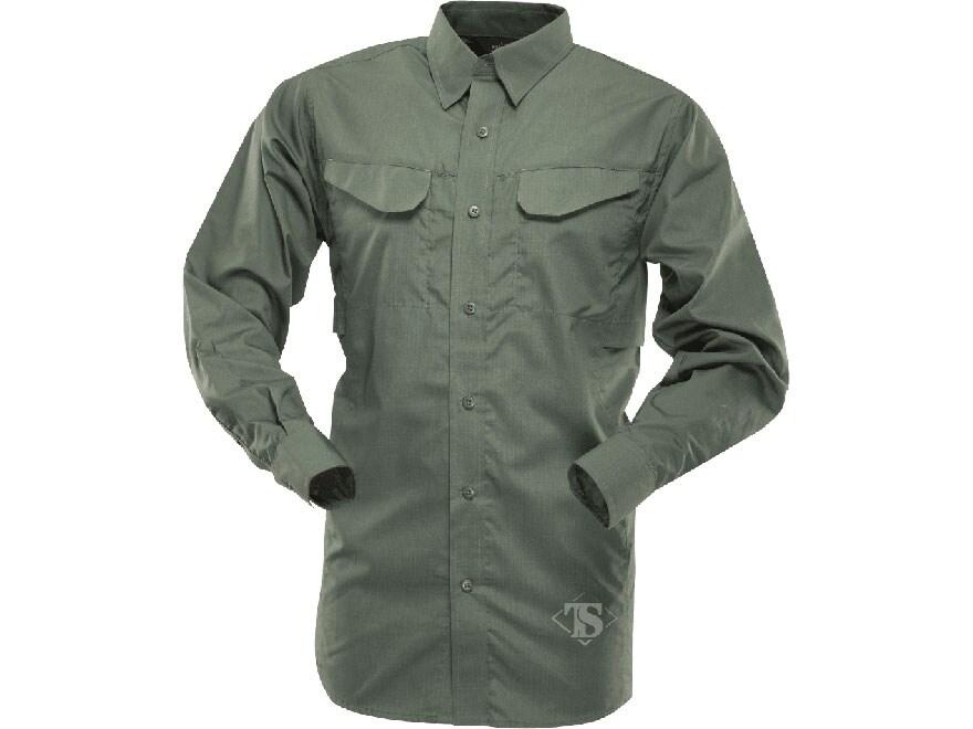 Tru-Spec Men's 24-7 Ultralight Field Shirt Long Sleeve Polyester Cotton Ripstop