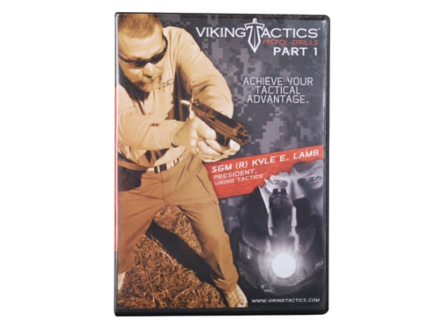VTAC Pistol Drills 1 DVD